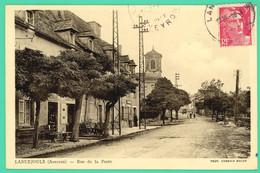 Lanuéjouls - Aveyron - Rue De La Poste - - Villefranche De Rouergue