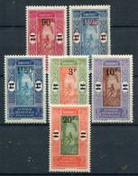 Dahomey        79/84 ** - Unused Stamps
