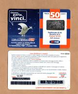 Ricaricard -  MILLEUNA TIM - Chiama,parla,vinci - 50 € - Validità  Set.2007 -  MID50-M   ETU-D3 - Ricarica Già USATA - GSM-Kaarten, Aanvulling & Voorafbetaald