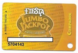 Fiesta Casino, Las Vegas & Henderson, NV, Older Used Slot Or Player's Card, ## Fiesta-1 - Casino Cards