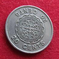 Solomon Islands 20 Cents 1977 KM# 5 *V1  Salomon Salomão - Solomon Islands