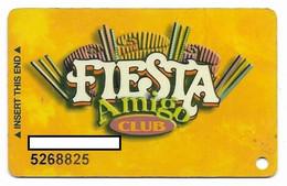 Fiesta Casino, Las Vegas & Henderson, NV, Older Used Slot Or Player's Card, # Fiesta-2 - Casino Cards