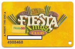Fiesta Casino, Las Vegas & Henderson, NV, Older Used Slot Or Player's Card, # Fiesta-2a - Casino Cards