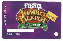 Fiesta Casino, Las Vegas & Henderson, NV, Older Used Slot Or Player's Card, # Fiesta-4a - Casino Cards