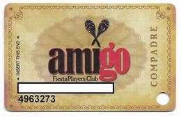 Fiesta Casino, Las Vegas & Henderson, NV, Older Used Slot Or Player's Card, # Fiesta-5 - Casino Cards