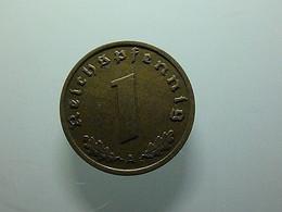 Germany 1 Reichspfennig 1938 A - 1 Reichspfennig