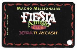 Fiesta Casino, Las Vegas & Henderson, NV, Older Used Slot Or Player's Card, # Fiesta-9 - Casino Cards