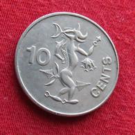 Solomon Islands 10 Cents 1988 KM# 27 *V2   Salomon Salomão - Solomon Islands