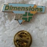 Pin's - Médical - Dimensions OCP - Pharmacie - - Medici