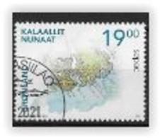 Groënland 2021, Timbre Oblitéré SEPAC - Gebraucht