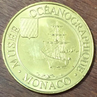 98 MONACO MUSÉE OCÉANOGRAPHIQUE N°1 LE NAVIRE MDP 2014 MÉDAILLE MONNAIE DE PARIS JETON TOURISTIQUE MEDALS TOKENS COINS - 2014