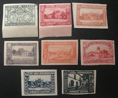 Espagne-España 1930 Pro Union Ibero Americana Sevilla 1930 Non-Dentelé MH* - Unused Stamps