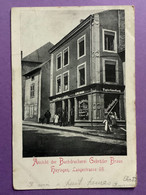 57  Rare CPA (HAYANGE)  Ansicht  Der Buchdruckerei Braun Hayingen,  Langestrasse 98    Bon état (traces D'usage) - Hayange