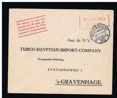 Geuzendam PP29-1 TURCO-EGYPTIAN-IMPORT-COMPANY 's Gravenhage 26 Okt 1929 - 5 Cent Rood - Material Postal