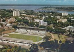CP ABIDJAN COTE D'IVOIRE - VUE AERIENNE - LE STADE - Ivoorkust