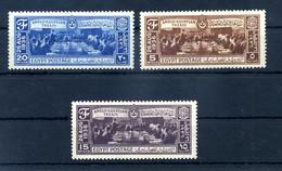 1937 EGITTO SET MNH ** 184/186 - Nuovi