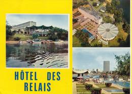 CP ABIDJAN COTE D'IVOIRE - HOTEL DES RELAIS - MULTIVUES - Ivoorkust