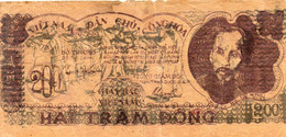 Billet 200 Haitram - VIET NAM - Dàn Chù - Onghoa - 1950. - 2 Scans - - Vietnam