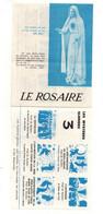 Le Rosaire Les Mystères Joyeux, Les Mystères Douloureux, Les Mystères Glorieux - Format : 14x11cm - Religion