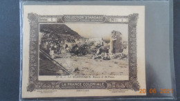 """La Martinique - Ruines De St-Pierre - Au Dos Publicité Café """"Standard"""" - Autres"""