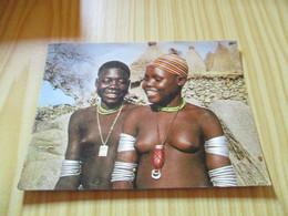 Carte Double Mora (Cameroun).Fiancées Podokwos. - Camerun