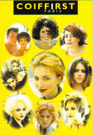 """Carte Postale """"Cart'Com"""" (1998) - Coiffirst Paris (salon De Coiffure) Le Coiffeur De Famille - Reclame"""