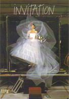 """Carte Postale """"Cart'Com"""" (2001) - Laetitia Casta En Robe De Mariée (Galeries Lafayette) Photo : Jean-Paul Goude - Reclame"""