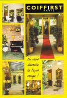 """Carte Postale """"Cart'Com"""" (1999) - Coiffirst Paris (salon De Coiffure) Le Coiffeur De Famille - Reclame"""