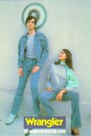 "Carte Postale ""Cart'Com"" (1998) - Wrangler The Authentic Western Jean's (mode - Vêtement) - Reclame"