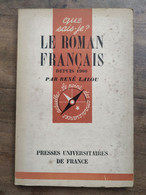 René Lalou: Le Roman Français Depuis 1900/ Que Sais-je, PUF, 1947 - Other