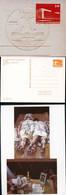 DDR PP19 B1/002-016-1a 23 Privat-Postkarten BESONDERHEITEN KUNSTAUSSTELLUNG Dresden 1987 - Privatpostkarten - Gebraucht