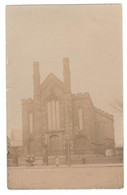 Vintage Postcard 1905 Real Photo Close Wesleyan Chapel  Mary Bealey's Methodist Chapel Used. See Description AA - Manchester