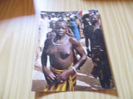 Carte Double Mokolo (Cameroun).Jour De Fête. - Camerun