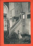 ZOW-36 Alger. Intérieur De La Mosquée El-Djedid  Circulé 1910 Vers La Suisse - Algeri