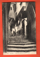 ZOW-39  Alger Rue Sidi-Abdallah Casbah. Tampon Grand Hotel Mustapha. LL 317 Circulé 1910 Vers La Suisse - Algeri