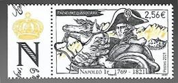 Andorre 2021 - Napoléon 1er ** - Neufs