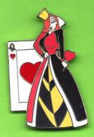 Gros Pin's BD Disney Jessica (Reine De Coeur) Alice Au Pays Des Merveilles (Double Moule) - #482 - Disney