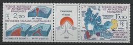 TAAF N° 139 A Triptyque Cote 9,20 € Neuf ** (MNH) Qualité TB - Neufs