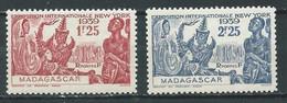 Madagascar YT N°207/208 Exposition Internationale New York 1939 Neuf ** - Ungebraucht