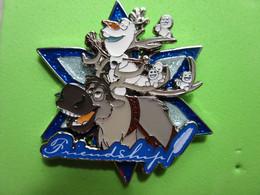 Gros Pin's BD Disney Olaf & Sven (Double Moule) La Reine Des Neiges - 3AA13 - Disney