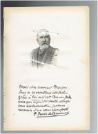 PUVIS DE CHAVANNES 1824 LYON 1898 PARIS PEINTRE PORTRAIT AUTOGRAPHE BIOGRAPHIE ALBUM MARIANI - Documenti Storici