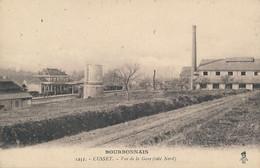 Cusset (03 - Allier) Vue De La Gare (côté Nord) édit. BF SG N° 1252 Violacée Série Bourbonnais - Sonstige Gemeinden