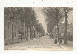 Cp , 35 , LA GUERCHE DE BRETAGNE , Avenue De La Gare , Voyagée - La Guerche-de-Bretagne