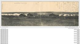 54 CAMP DE BOIS-L'EVÊQUE. Carte Double 1906. 28.5 X 9 Cm - Altri Comuni