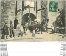 50 GRANVILLE. Attelage à La Grande Porte 1907 - Granville