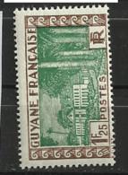 GUYANE           N°  YVERT  :   126 A   NEUF AVEC  CHARNIERES      ( CH  4 / 18  ) - Unused Stamps