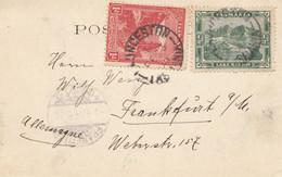 Tasmania: Post Card Launceston 1904 To Frankfurt - Unclassified