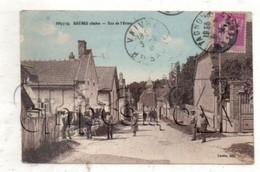 Rhèges (10) : La Rue De L'Orme En 1935 (animé, Attelage) PF - Otros Municipios
