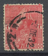 Nouvelle Zélande - Neuseeland - New Zealand 1926 Y&T N°183 - Michel N°174 (o) - 1p George V - Used Stamps