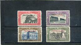 Tripolitaine 1929 Yt 60-63 * - Tripolitania